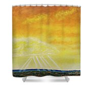 Super Seven Shower Curtain