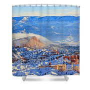 Superb View Of Sunset Point, Bryce Canyon National Park Shower Curtain