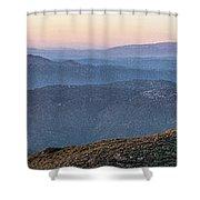 #superbloom Sunset Shower Curtain