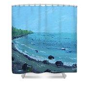 Superior Coast 1 Shower Curtain