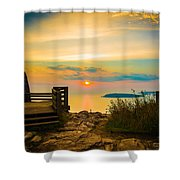 Superior Horizon Shower Curtain