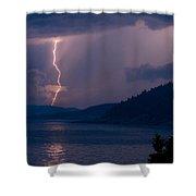 Superior Lightning     Shower Curtain
