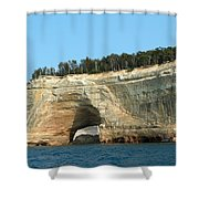 Superior Rock Shower Curtain