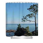 Superior Sentinel  Shower Curtain