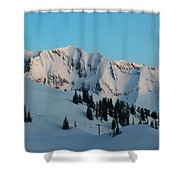 Superior Sunrise Shower Curtain by Michael Cuozzo