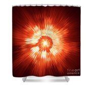 Supernova 2 Shower Curtain