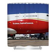 Supertanker At Colorado Springs Shower Curtain