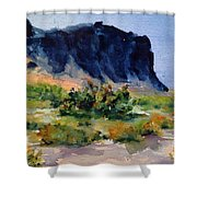 Supperstition 3 Shower Curtain