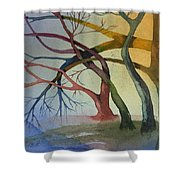 Support And Love Shower Curtain