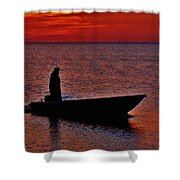 Support Commercial Fishermen 6 411 Shower Curtain