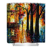 Suppressed Memories Shower Curtain