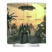 Supreme Commander 2 Shower Curtain