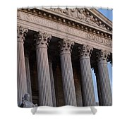 Supreme Court Building Shower Curtain