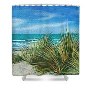 Surf Beach Shower Curtain