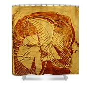 Surf Life - Tile Shower Curtain