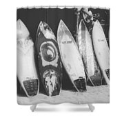 Surf Rodeo Shower Curtain