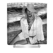 Surf Side Intrigue Shower Curtain