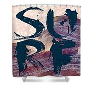 Surf V1 Shower Curtain
