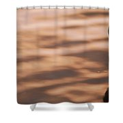 Surfacing Mangrove Shower Curtain
