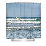 Surfboard Shower Curtain