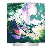 Surfer 2 Shower Curtain