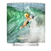 Surfer 46 Shower Curtain