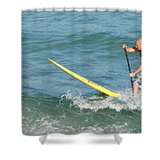Surfer Dude Shower Curtain