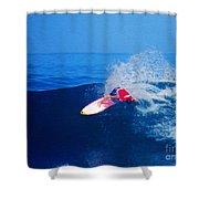 Surfer Glenn Hall - Nbr 1 Shower Curtain