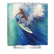 Surfer II Shower Curtain