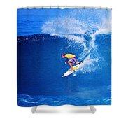 Surfer Mitch Crews Shower Curtain