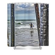 Surfs Up Shower Curtain