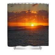 Surfers Beach Shower Curtain