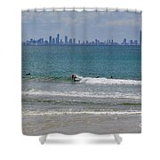 Surfers Paradise  Shower Curtain