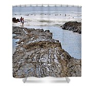 Surfers Waterways Shower Curtain