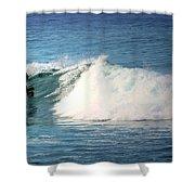 Surfing Asilomar Shower Curtain