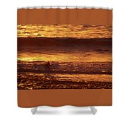Surfing California Shower Curtain