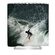 Surfing Hawaii 4 Shower Curtain