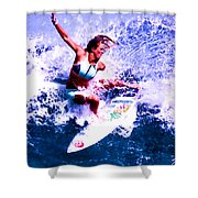 Surfing Legends 6 Shower Curtain