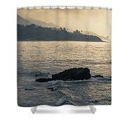 Leo Carrillo Beach Shower Curtain