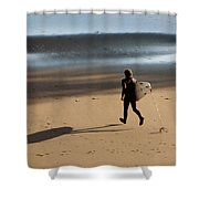 Surfing On Air  Shower Curtain