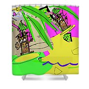 Surf's Up 2 Shower Curtain