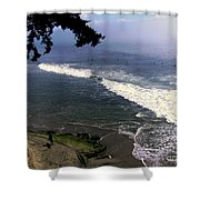 California Surfers Shower Curtain