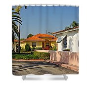 Surfside Neighborhood In Miami Beach Shower Curtain