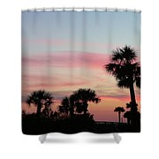 Surfside Sunset Shower Curtain