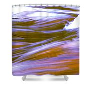 Surging Currents Shower Curtain
