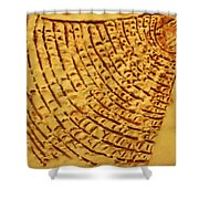Surprise - Tile Shower Curtain