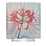 Surprise Lily Shower Curtain