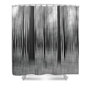 Surreal Forest Abstract. Shower Curtain