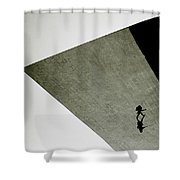 Surreal Isolation Shower Curtain