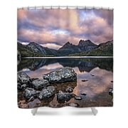 Surreal Majesty Shower Curtain